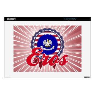"Eros, LA Decals For 15"" Laptops"