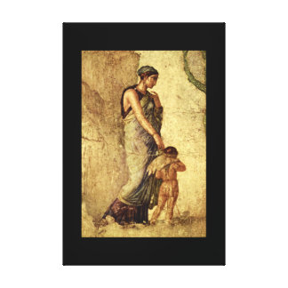 Eros Punished by Venus', Pompei_Art of Antiquity Canvas Print
