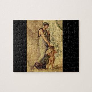 Eros Punished by Venus', Pompei_Art of Antiquity Jigsaw Puzzle