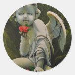 Eros Round Stickers