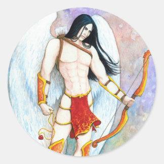 Eros Round Sticker