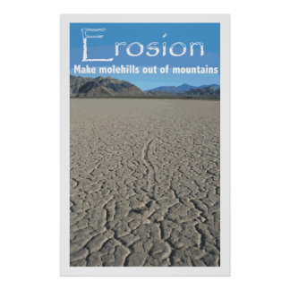 Erosion Cover Poster