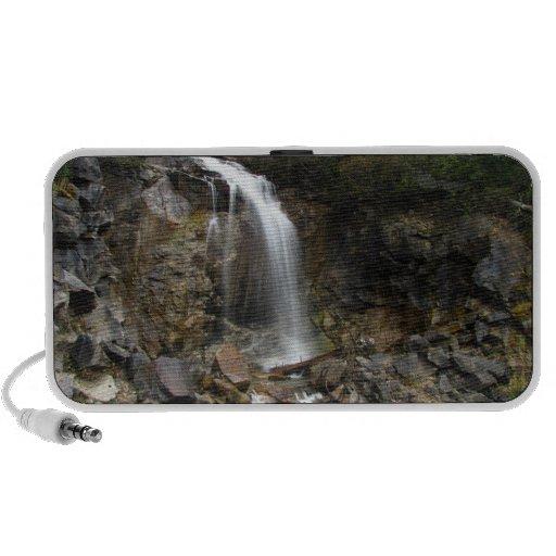 Erosión de la cascada iPod altavoz