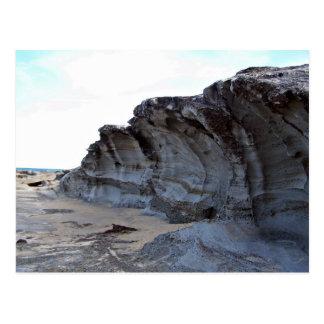 Erosión en playa postales