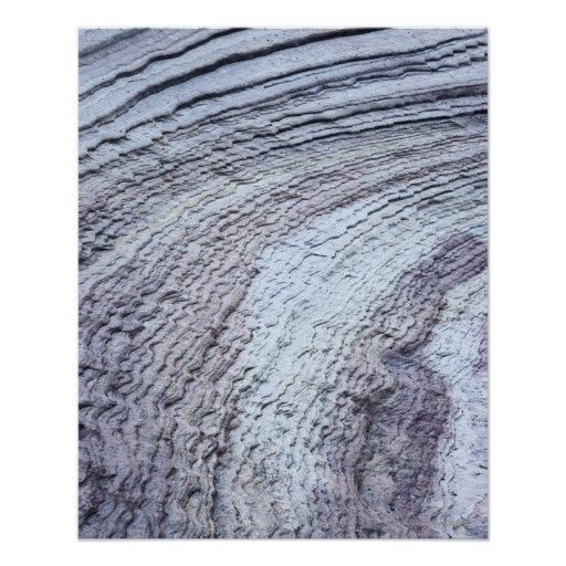 Erosión, parque nacional de Zion, Utah 2 Póster