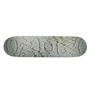 Erosion pattern skateboard decks