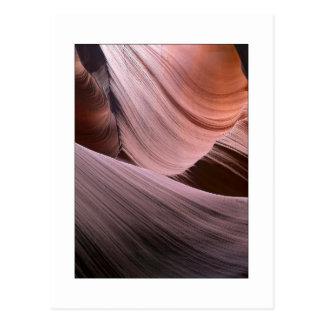 """Erosion Trails"" Postcard"