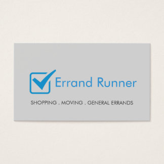 Errand Runner Business Card