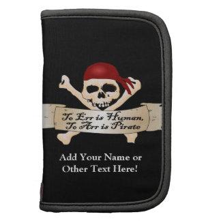 Errar es humano, a Arr está el pirata Planificadores
