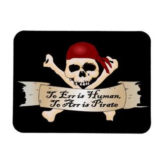 Errar es humano, a Arr está el pirata Iman Flexible
