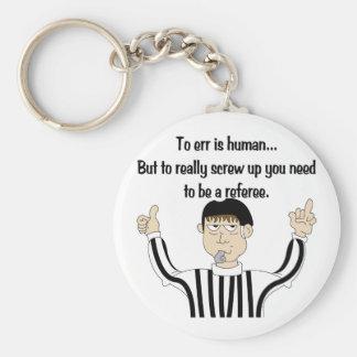 Errar es humano llavero