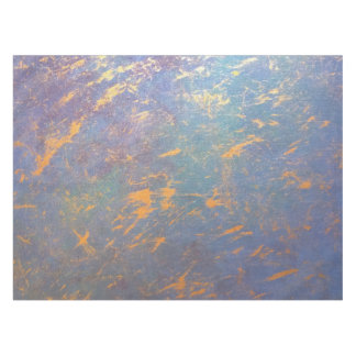 Erratic Muted Rainbow Pastel Watercolor Tablecloth