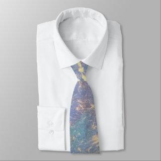 Erratic Style | Ombre Pastel Watercolor Gold | Tie