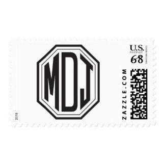 Erreich Davis Wedding Monogram Postage Stamp