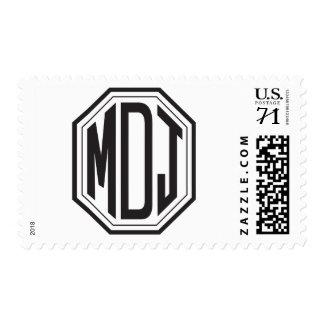 Erreich Davis Wedding Monogram Stamps