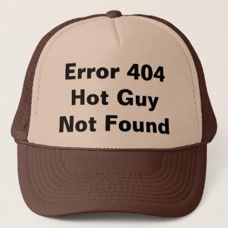 Erro 404 joke trucker hat