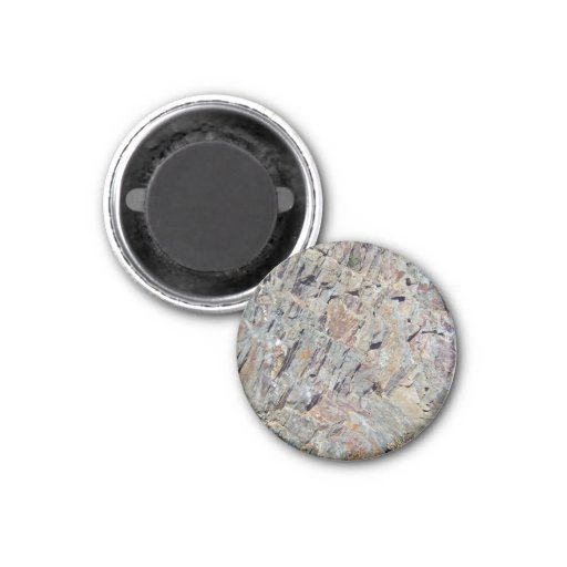 Erroded mountain texture with irregular patterns fridge magnets