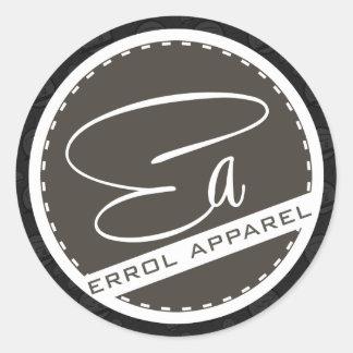 Errol Apparel Stickers