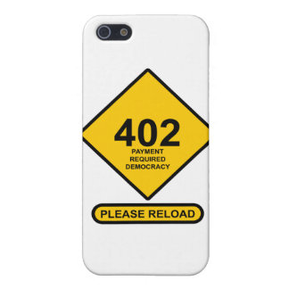 Error 402: Payment Required Democracy Case For iPhone SE/5/5s