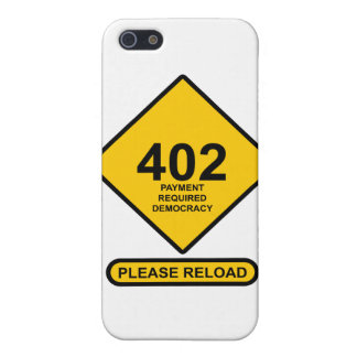 Error 402: Payment Required Democracy Cover For iPhone SE/5/5s