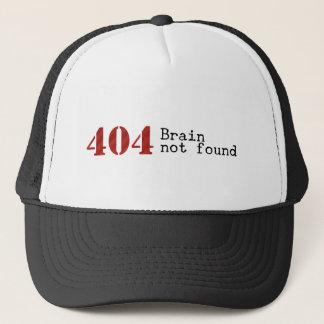 Error 404 Brain not found hat