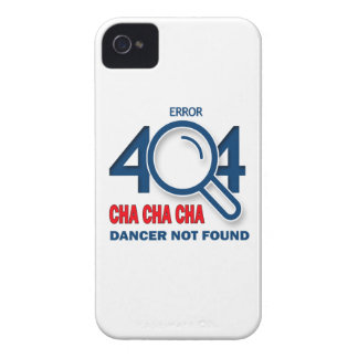Error 404 Cha cha cha dancer not found iPhone 4 Cover
