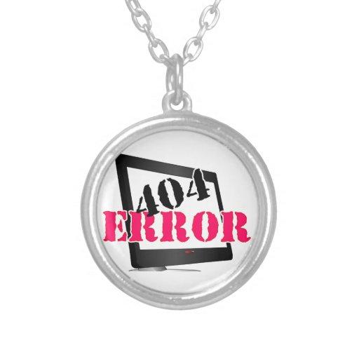 Error 404 colgantes personalizados