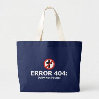 Error 404: Deidad no encontrada Bolsa De Mano