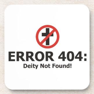 Error 404: Deidad no encontrada Posavasos De Bebidas