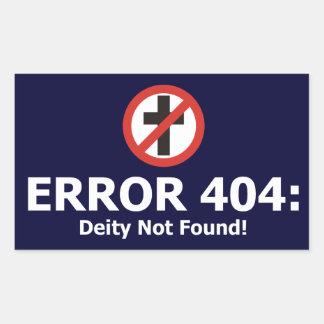 Error 404: Deity Not Found Sticker