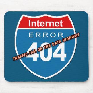 Error 404 del Internet Alfombrillas De Ratones