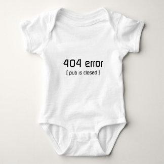 error 404 - el pub es cerrado body para bebé