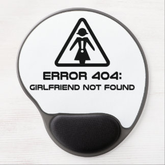 Error 404 Girlfriend Not Found Gel Mouse Mats