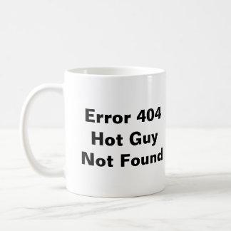 Error 404 Hot Guy Not Found Mug