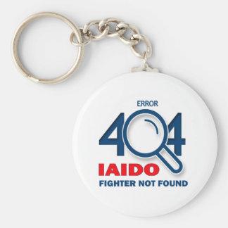 Error 404 Iaido fighter not found Basic Round Button Keychain