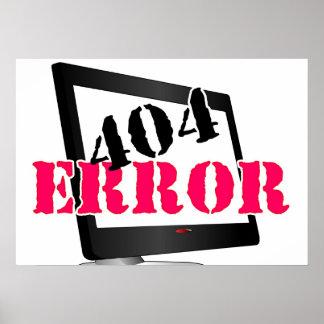 Error 404 impresiones