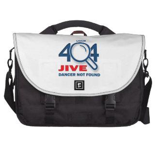 Error 404 Jive dancer not found Laptop Bags