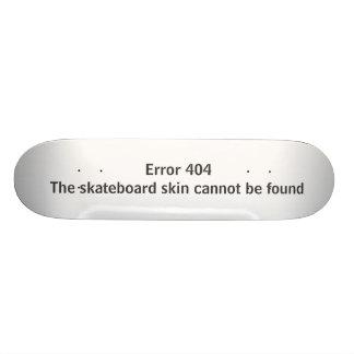 Error 404 - La piel del monopatín no puede ser enc Tablas De Skate