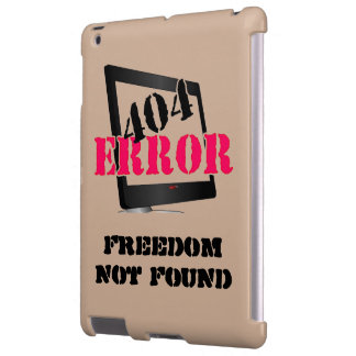 Error 404: Libertad no encontrada Funda Para iPad