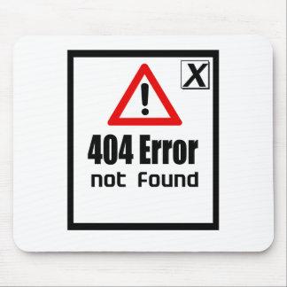 error 404 no encontrado tapetes de ratones
