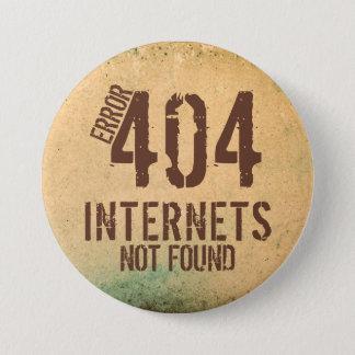 Error 404 ... not found. button