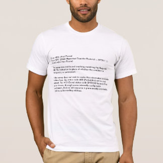 Error 404--Not FoundFrom RFC 2068 Hypertext Tra... T-Shirt
