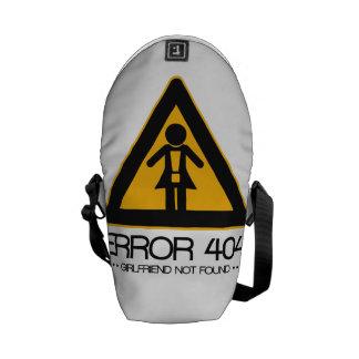 ERROR 404 - Novia no encontrada Bolsa Messenger