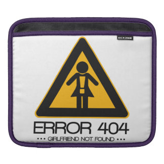 ERROR 404 - Novia no encontrada Fundas Para iPads