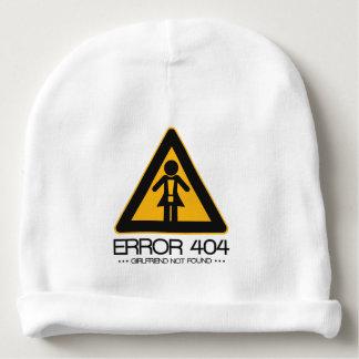 ERROR 404 - Novia no encontrada Gorrito Para Bebe
