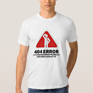 Error 404 playeras