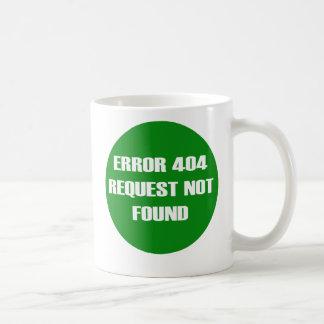 Error-404-Request-Not-Found Coffee Mugs