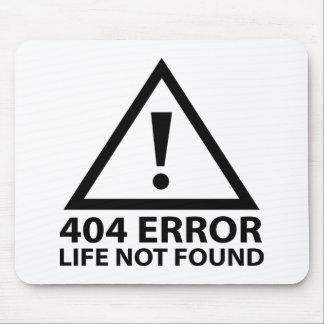 Error 404: Vida no encontrada Alfombrillas De Ratón