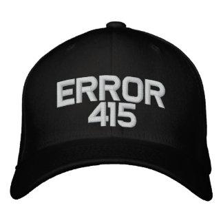 ERROR 415 OG cap Embroidered Hat