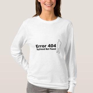 Error 440 - Boyfriend Not Found T-Shirt
